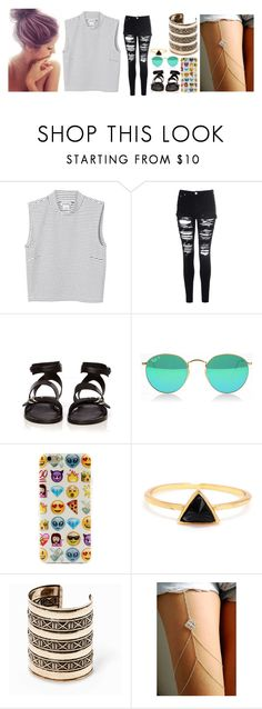 """""""Well this one looks better"""" by fangirlwriter ❤ liked on Polyvore featuring Monki, Glamorous, rag & bone and MANGO"""