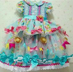 Vestido lindo! Festa junina