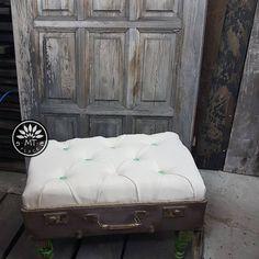 Pufka z walizki