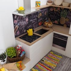 Kitchen update 2.0  Step by step forward #miniature #dollhouse #handmade