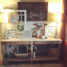 """""""How beautiful is this vignette? Our customer @kirklets certainly knows how to beautifully style her decor! #myrusticlittleroost  #rusticlittleroost…"""""""