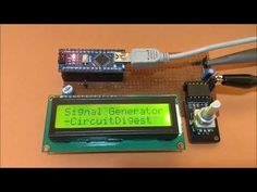 Lcd Keypad Shield, Function Generator, Diy Tech, Circuit Design, Arduino Projects, Diy Cardboard, Knob, Waves, Change