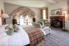 Amberley Castle. Loving the windows, Sussex, England. Beautiful castle hotel
