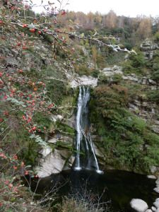 La Cumbrecita waterfall, Cordoba Province, Argentina