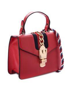 d15cedeb04 Faux Leather 3 Pieces Handbag Set - Black