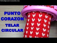 Arm Knitting Tutorial, Loom Knitting Stitches, Spool Knitting, Loom Knitting Projects, Hand Knitting, Loom Flowers, Knitted Flowers, Afghan Loom, Thread Art