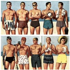 A Man's Guide to Swimwear  by Real Men Real Style #mensstyle #styletips