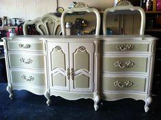 two tone dresser  -  beautiful colors