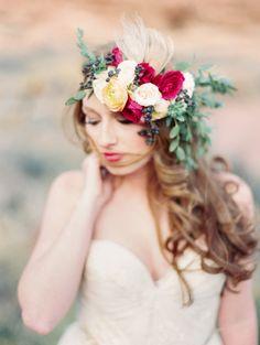 Southwest Desert Bridal Inspiration  Read more - http://www.stylemepretty.com/2014/03/14/southwest-desert-bridal-inspiration/