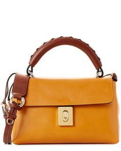 Chloe Fedora Leather Satchel is on Rue. Shop it now.