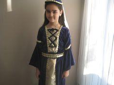 """Kostüme für Kinder - Kostüm """"Burgfräulein"""", """"Princessin"""" - ein Designerstück von ZauberhafteKinderwelt bei DaWanda"""