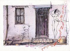 L'inconstance 21*30 Dessin Original sur papier Signé Incipit de la Boca Art brut