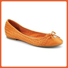 Sperry Top-Sider Women's Ariela Orange Woven Flat 10 M (B) - Flats for women (*Amazon Partner-Link)