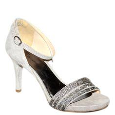 #Sandalo gioello in camoscio grigio di #EmanuelaPasseri  http://www.tentazioneshop.it/scarpe-emanuela-passeri/sandalo-4022-grigio-emanuela-passeri.html