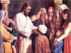 Joe Catholic - Today's Navarre Bible commentary examines St. Mark's account of Jesus healing the deaf man.