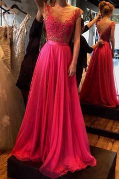 Nectarean Floor-length A-line Sleeveless Zipper Prom Dresses