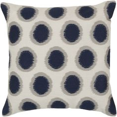 Pulp Home – Ikat Dot Pillow