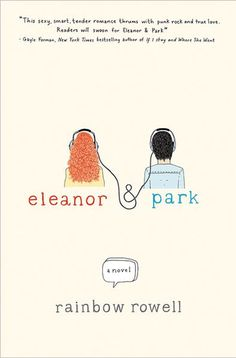 "ELEANOR & PARK by Rainbow Rowell. Definitely one of THE BEST books I have read this year. Beautiful writing, compelling characters and great music make this a book that, as John Green said, ""will remind you what it's like to be young and in love with a book."""