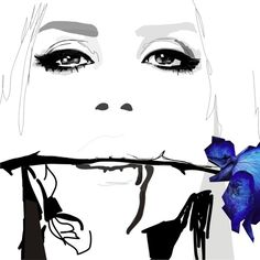 Blue Velvet by Gosia Grochala, via Behance