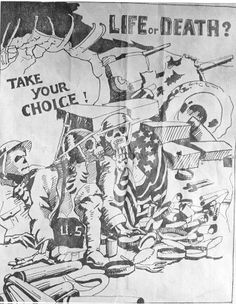 Philippines  WW2  Japanese Leaflet Dropped on Filipino and American Troops on Bataan