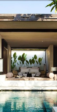 groundcovers:  One bedroom Pool Villa, Alila Villas Uluwatu. WOHA architects
