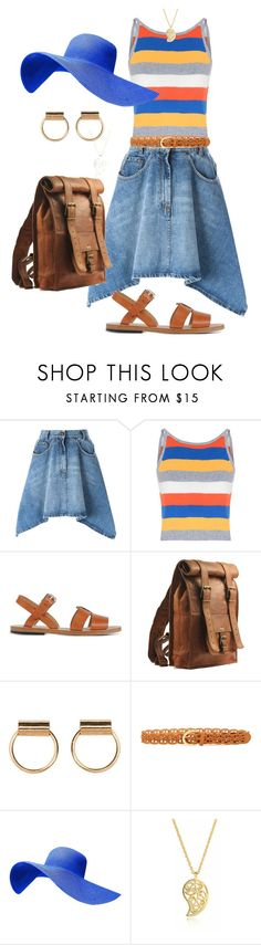"""Summer"" by glamourgrammy ❤ liked on Polyvore featuring Moschino, Glamorous, A.P.C., Steve Madden and Sonal Bhaskaran"