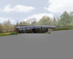 Headlands. Garden elevation. Contemporary Architecture. Hawkes. NPPF 55.