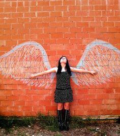 Creative Angel #angels, #art, #pinsland, https://apps.facebook.com/yangutu/