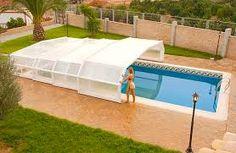 Resultado de imagen de piscinas cubiertas telescopicas