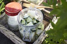 Unser beliebtes Rezept für Gurken-Honigmelonen-Salat und mehr als 55.000 weitere kostenlose Rezepte auf LECKER.de.