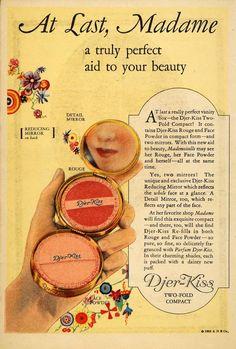 Djer Kiss makeup ad