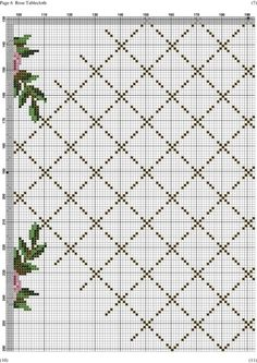 This Pin was discovered by oce Cross Stitch Borders, Cross Stitch Rose, Cross Stitch Flowers, Cross Stitch Embroidery, Embroidery Patterns, Cross Stitch Patterns, Baby Dress Pattern Free, Latch Hook Rugs, Drawn Thread