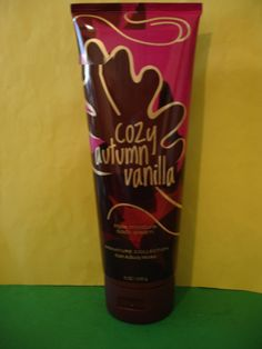 Bath and Body Works     This is for 1 New Full Size 8 oz Cozy Autumn Vanilla Body Cream.    Combined Shipping for Several Items Configured at Checkout