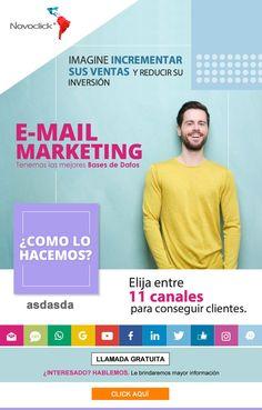 #NOVOCLICK esta con #E-Mail Marketing #IncrementeSusVentas E-mail Marketing, Best Foundation