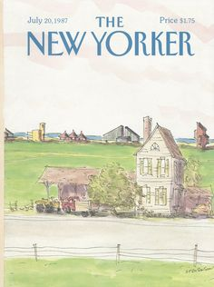 The New Yorker - Monday, July 20, 1987 - Issue # 3257 - Vol. 63 - N° 22 - Cover by : James Stevenson
