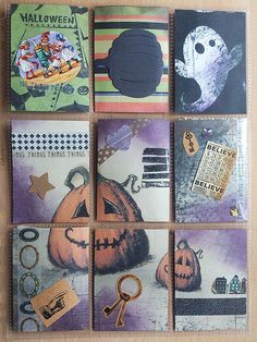 Halloween pocket letter #snailmail #autumn #fall
