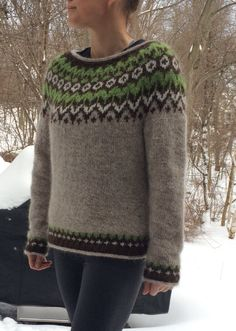 a knit and crochet community Fair Isle Knitting, Hand Knitting, Harry Potter Knit, Icelandic Sweaters, Spinning Yarn, Fair Isle Pattern, How To Start Knitting, Sweater Design, Knitwear