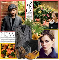 """Emma Watson / Graces T Magazine's Fall Issue"" by gabby6886 ❤ liked on Polyvore"