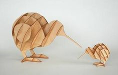 Happy Kiwi.. i like this Cardboard Play, Cardboard Animals, Cardboard Sculpture, Laser Cut Wood, Laser Cutting, Laser 3d Printer, Laser Cutter Engraver, Laser Cutter Ideas, Cut Animals