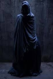 Image result for creepy cloaked figure