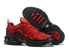 new style 1abe5 d327e Drake Reveals Nike Air Max Plus For Stage TN 2019 Bright Red Black Sneakers  Men s Running Shoes