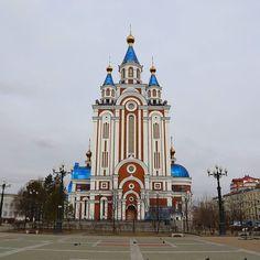 Градо-Хабаровский собор Успения Божией Матери #Хабаровск #Хабаровскийкрай