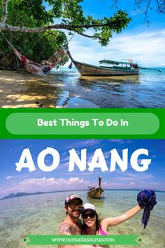 Here are the best things to do in Ao Nang from those who know! We spent a week in Krabi and came up with the 10 best activities in Ao Nang, Vietnam Thailand Travel Guide, Asia Travel, Thailand Tourism, Thailand Vacation, Thailand Honeymoon, Phuket, Bali, Travel Photos, Travel Tips