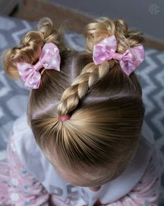 35 adorable little girl hairstyles to try on ! Girls Hairdos, Baby Girl Hairstyles, Princess Hairstyles, Girl Haircuts, Winter Hairstyles, Up Hairstyles, Braided Hairstyles, Toddler Hairstyles, Wedding Hairstyles