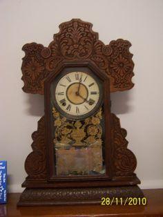 Clock Nostalgia muffins kitchen clock petits gateaux vintage clock