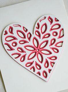 Fiori Heart Layer Set