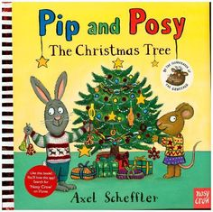 Pip and Posy: The Christmas tree. Toddler books that deal with the downs as well as the ups of toddler life - children and parents will recognise their own emotional roller coasters. But, of course, it all ends happily Christmas Trees Story, Christmas Ornaments, December 12, Toddler Books, Feeling Sick, Father Christmas, How To Make Paper, Paper Decorations, Candy Cane