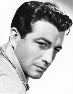 Robert Taylor photographed by Laszlo Willinger I HAD SUCH A CRUSH ON HIM, SO HANDSOME<3