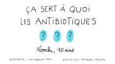 Ça sert à quoi, les antibiotiques ?