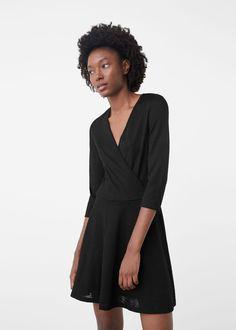 Wickelkleid - Kleider für Damen | MANGO Deutschland